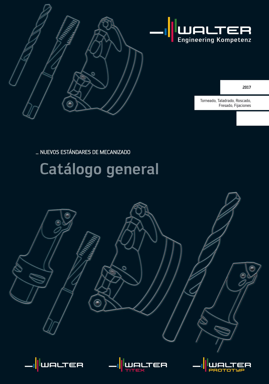 Portada Catálogo Walter General