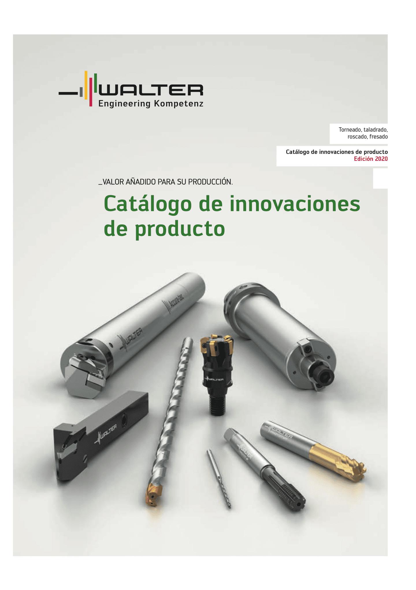 IPAC Innovaciones de producto Walter